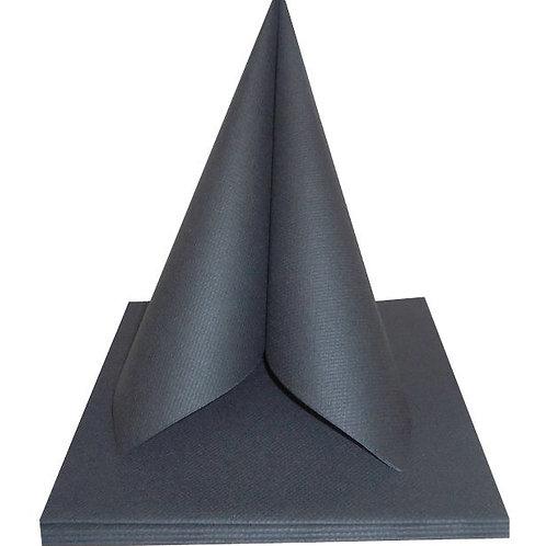 Serviettes Intissées x50 - Anthracite