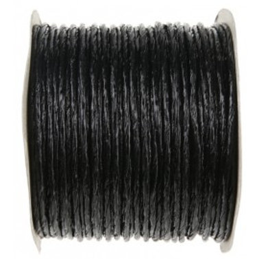 Bobine de fil Laitonné Métallisé - 20m - Noir