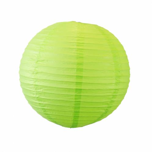 Boule Chinoise - Vert Anis - D80 cm