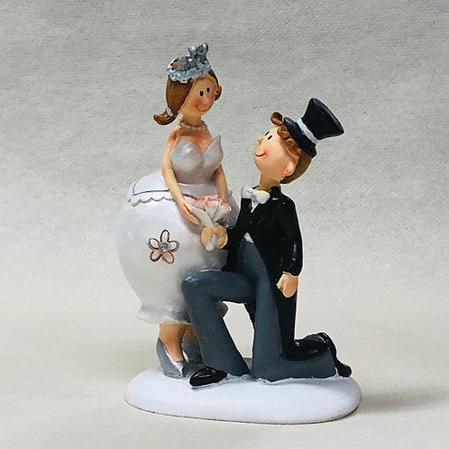 Couple de Mariés Humoristique 2