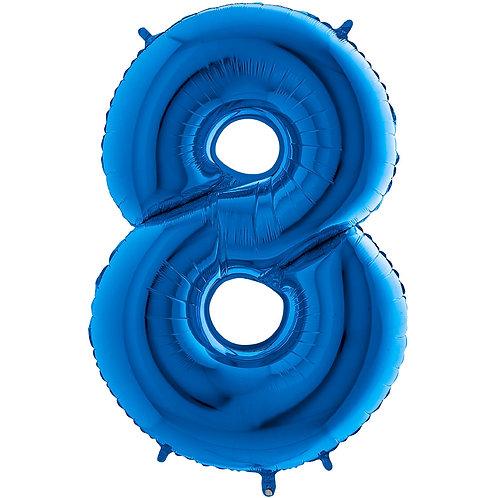 Ballon Alu Bleu (PM)8