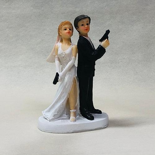 "Couple de Mariés ""Espion"""