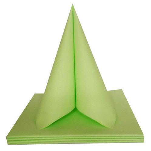 Serviettes Intissées x50 - Vert Pomme