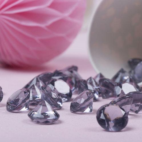 Mini-Diamants Pot de 110gr - Gris