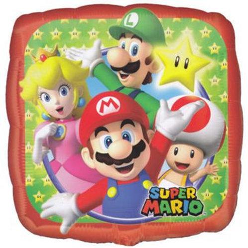Ballon alu Super Mario