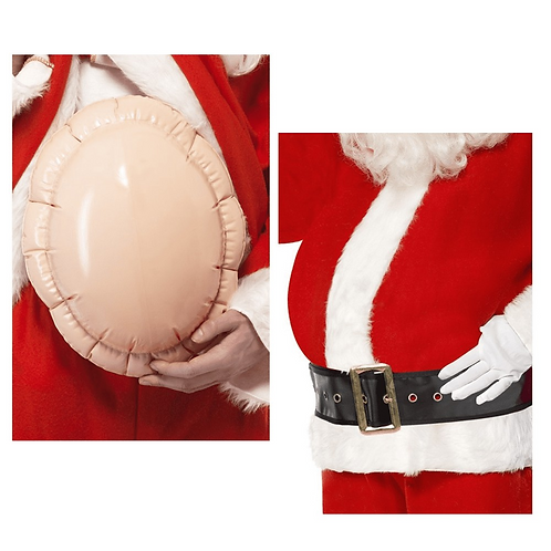 Gros Ventre de Père-Noël Gonflable