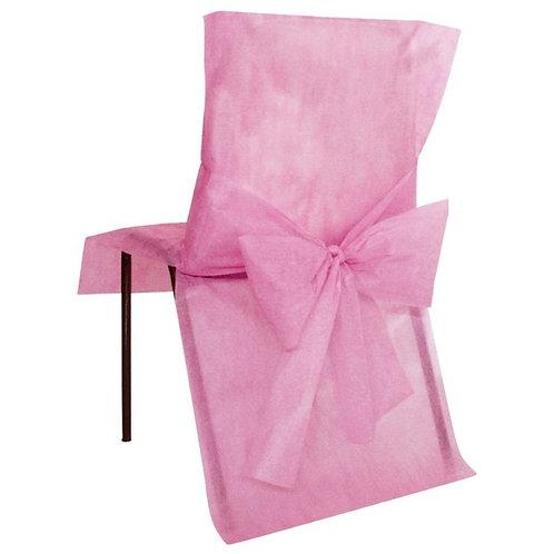 Housses de Chaises x10 - Rose