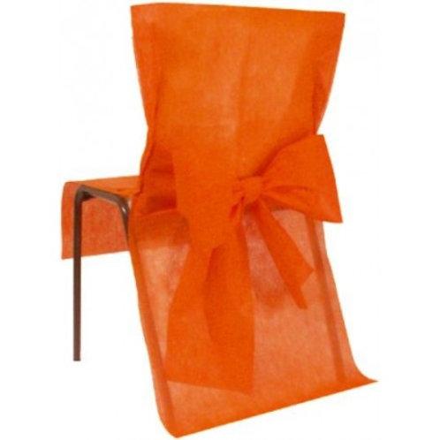 Housses de Chaises x10 - Orange