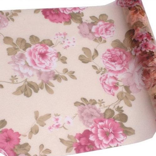 Chemin de Table 5mx30 cm - Organza Rose