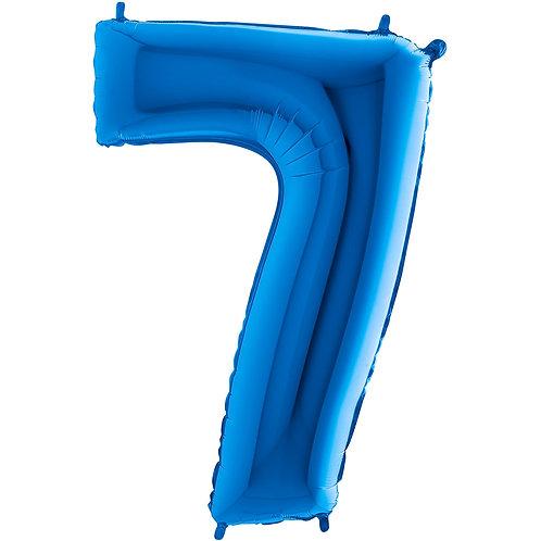Ballon Alu Bleu (PM)7