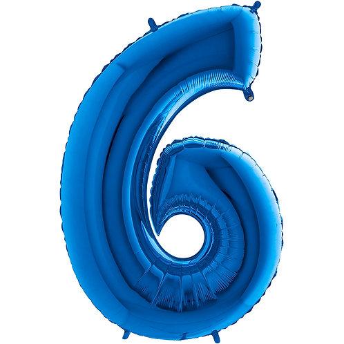 Ballon Alu Bleu (PM)6