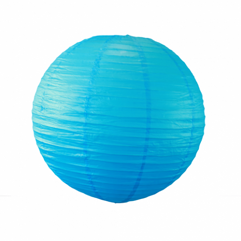 Boule Chinoise - Turquoise - D80 cm