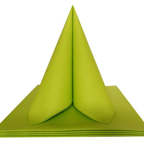 Serviettes Intissées x50 - Vert Anis