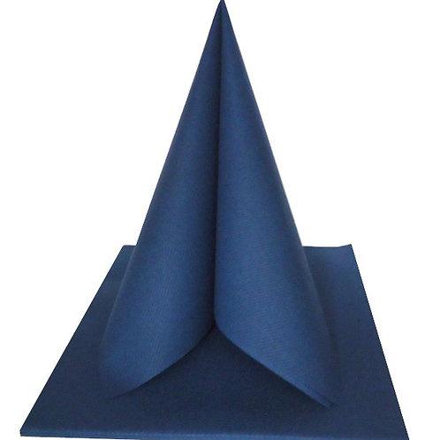 Serviettes Intissées x25 - Bleu