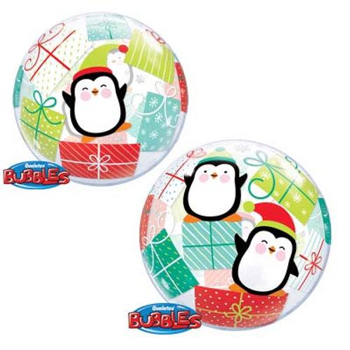 Ballon Bubble Pingouin