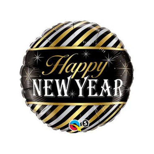 Ballon alu Happy New Year