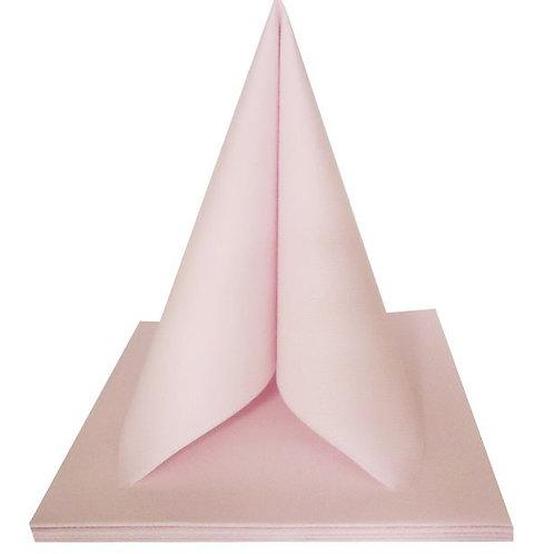 Serviettes Intissées x50 - Rose Poudré