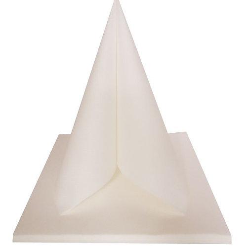 Serviettes Intissées x25 - Blanc