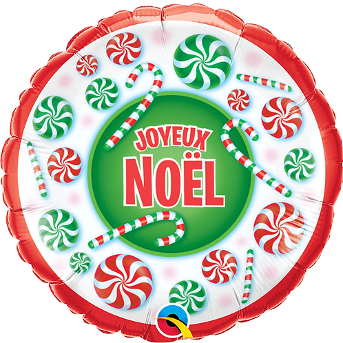 Ballon alu Joyeux Noël
