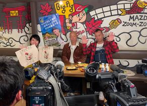 テレビ新広島特番「サシ飲み」のロケ地としてBig-Pigが選ばれ、バイきんぐのお二人がご来店されました。
