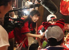 テレビ朝日 「グッドモーニング」でBig-Pigが黒田投手の凱旋試合の店内模様を取材して頂きました。
