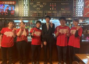 広島中国放送「広島と北海道どっちが太っ腹?」の収録地としてBig-Pigが選ばれアンガールズの山根さんがご来店されました。