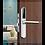 Thumbnail: Liliwise P33 Grey - Κλειδαριά Mifare
