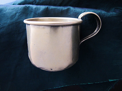 Small Vintage Silver Baby Cup