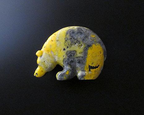 Brian Yatsattie Zuni Bear Fetish