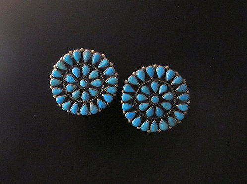 Federico Silver & Turquoise Earrings