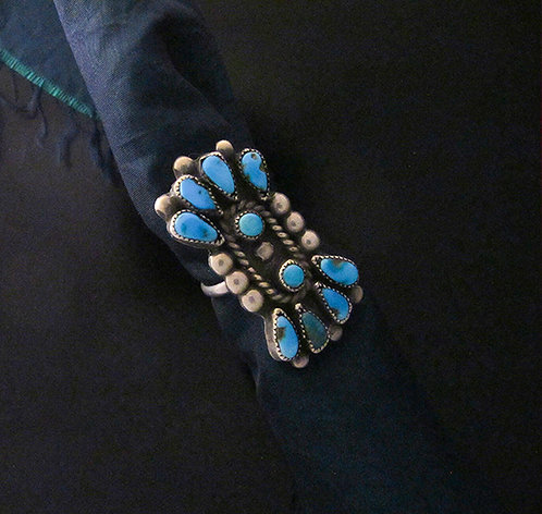 Zuni Silver & Turquoise Ring