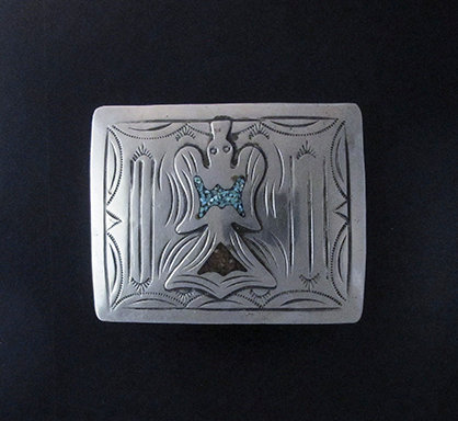 Sterling Silver Angel Buckle