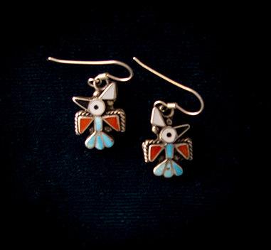 Zuni Bird Earrings