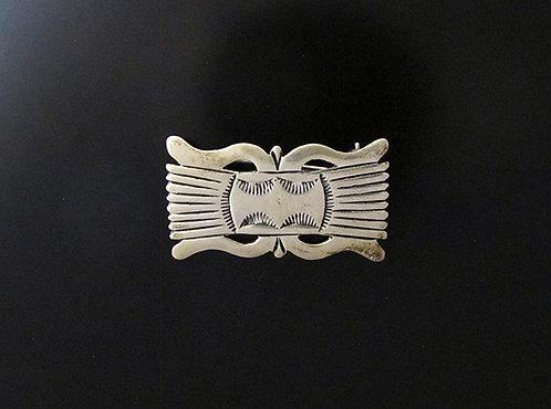 Sterling Silver Navajo Pin
