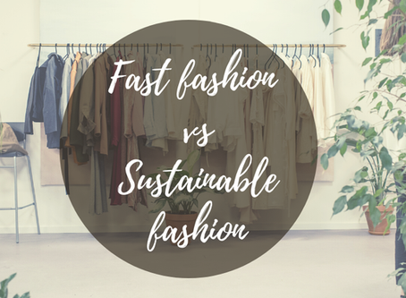 Fast Fashion vs Sustainable Fashion