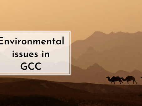 Environmental Issues in the Gulf Cooperative Council