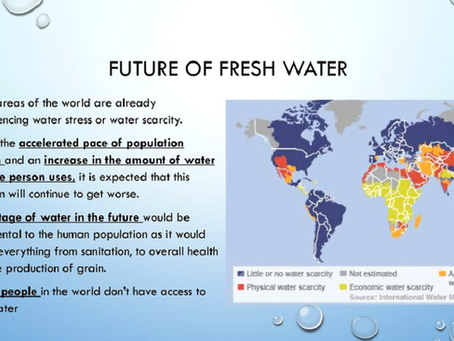 THE FUTURE OF FRESH WATER