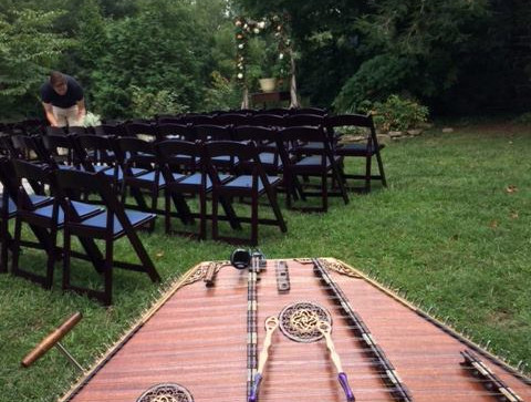 A beautiful day for a wedding