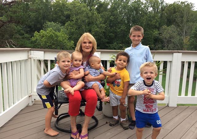 Lorraine and the Grandkids
