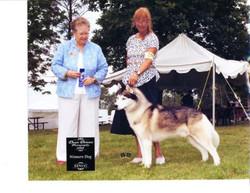 Kiowa with owner Marilyn!