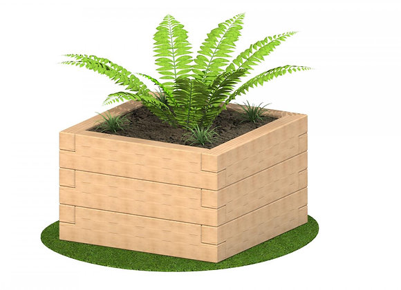 Square Sleeper Planter