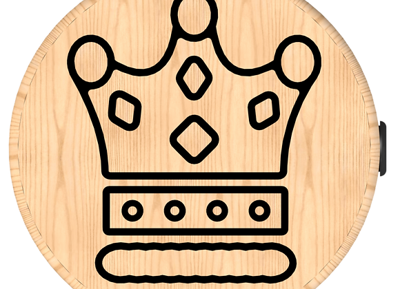 Crown Button Stool