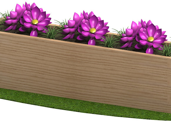 Sleeper Planter 1.8m