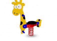 Giraffe rider