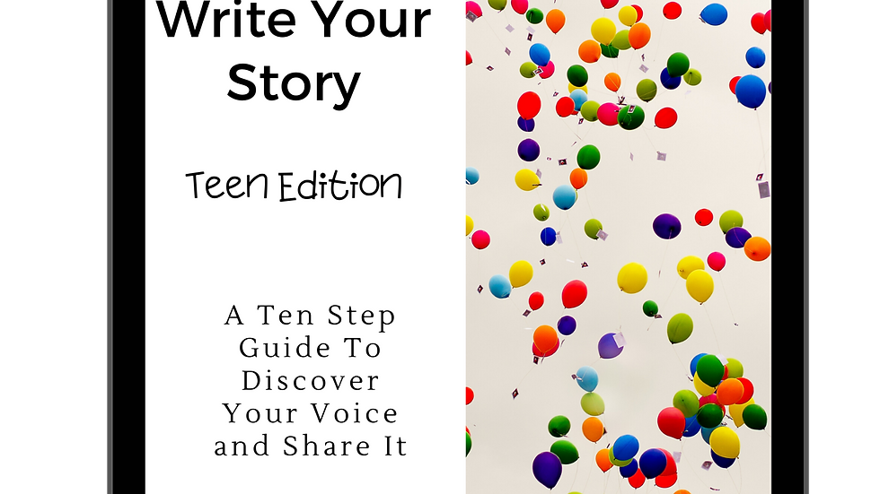 How To Write Your Story (Teen Edition)