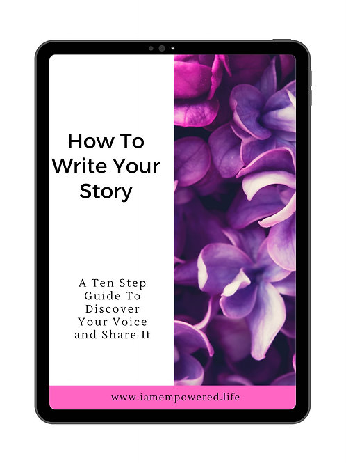 How To Write Your Story (Pink Edition)