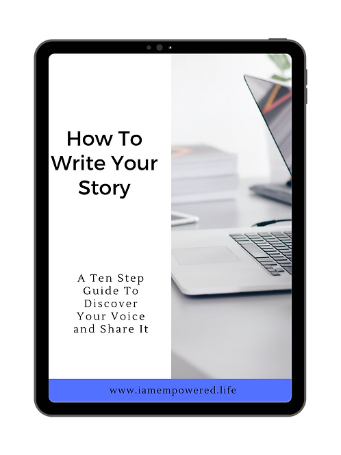 How To Write Your Story (Blue Edition)