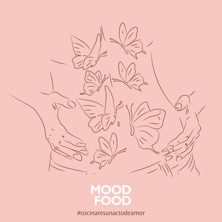 Mariposas en el estómago: creatividad para promoción de San Valentín en Mood Food