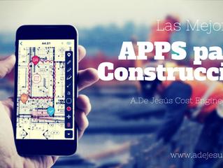 Apps para la construcción. Aumenta tu productividad en la obra.
