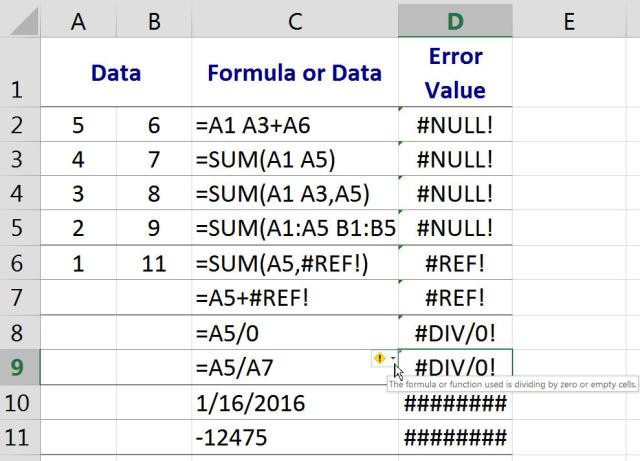 Error Excel, Presupuestos, Construcción